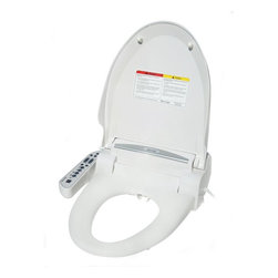 SPT - SPT Bidets Magic Clean Round Bidet with Dryer in White SB-2036S - SPT Magic Clean bidet is a necessity to everyday personal hygiene utilizes a stream of water to gently cleanse the bottom after going to the toilet. Offers immediate relief of hemorrhoid pain and helps prevent future hemorrhoids; relieves constipation and straining at stool; maintains optimum feminine hygiene (ideal for expecting mothers); and offers unrivaled cleanliness and comfort. Adjustable water temperature and water pressure with soft start. Also features heated seat warm air drying deodorizer anti-slam lid and seat and night illumination. Magic Clean bidet replaces existing toilet seat installation required. Color: White.