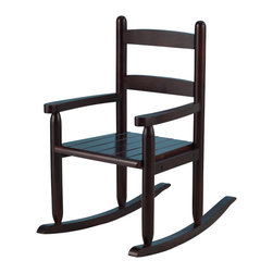 KidKraft - 2-Slat Rocker, Cherry, Sturdy Construction by Kidkraft - Our 2-Slat Rocking Chair brings new life to the 2-slat design. If unsure about exactly which rocking chair you want to purchase, this classic design is a wise, safe decision.