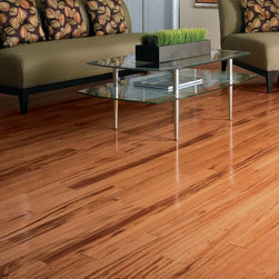 Tiger wood floor - Tiger Wood is another heavily-grained, tropical hardwood. Tiger Wood of African origin is not sustainable harvested, but Tiger Wood of Brazilian origin is. Know your sources!