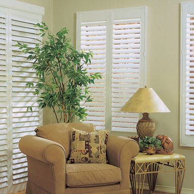 """Blindsgalore - Blindsgalore Signature 3-inch Composite Wood Shutters - Blindsgalore Signature 3"""" Composite Wood Shutters looks and feels like real wood and is the most durable and maintenance free shutters for your window."""