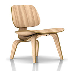Herman Miller Eames Plywood Lounge Chair, Wood
