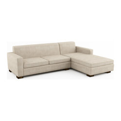 Brenem Chaise Right Sectional w/ Sofa Bed (Custom)