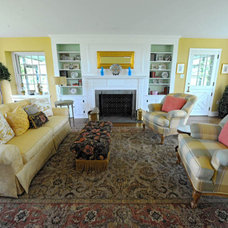 Traditional Living Room by Kathleen L. Penney Interiors, Inc.