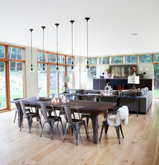 modern dining room by Actual Size Projects