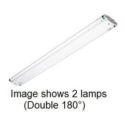 "Utopia Lighting - Utopia 48"" SMS Side Mount Strip, 3 x 32W T8, Single Ballast, 120/277V - The is a versatile fixture that can be used on vertical surfaces or within limited spaces such as displays. The strip light's durability makes it a standard fixture for displays and other shallow spaces."