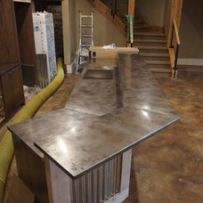 Contemporary Kitchen Countertops by Milo's Art Metal, LLC