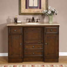Contemporary Bathroom Vanities And Sink Consoles by Overstock.com