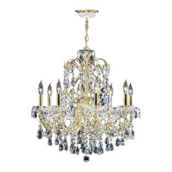 James R Moder - Christina - IMPERIALT Crystal - In most designs, the major cost of a Crystal Chandelier is the price of the Crystal components. The quantity and shapes of the Crystal utilized to trim the Chandelier and most importantly, as in grades of diamonds, the crystal quality determines the price. James R Moderr Crystal offers IMPERIALT Crystal trim (-22), which blends a quality look with a great price point. These Crystal Chandeliers are trimmed with a combination of some of the high quality Crystal from: Austria, Czech Republic, Egypt, REGALT Hand-Cut and Polished and Crystal from other sources. Also available IMPERIALT Color Crystal.