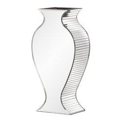 Howard Elliott - Howard Elliott Rounded Mirrored Vase - Small - Rounded Mirrored Vase - Small.