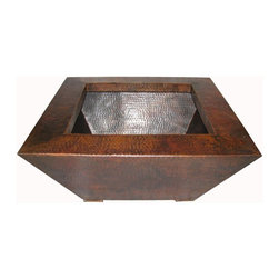 "40"" Grand Corinthian Copper Fire pit - 40"" Grand Corinthian Copper Fire pit"