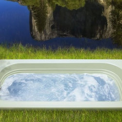 """Jacuzzi - Jacuzzi-LUX6634 BUX XXX W Luxura Acrylic 66-Inch x 34-Inch x 20-Inch Comfort Soa - Jacuzzi-LUX6634 BUX XXX W Luxura® Acrylic 66-Inch x 34-Inch x 20-Inch Comfort Soaking Bath with Universal Drain in WhiteLuxura® means """"luxury"""", and what more could you ask? Simply, your water never felt this good. Perfectly stylish in contemporary decors, but wonderfully relevant in more classic settings, the Luxura® whirlpool bath is both a restorative and retrofit dream - a great fit for remodels and replacements of older 5- and 5.5-foot tubs. Available as a whirlpool bath, Pure Air® bath or soaking bath with or without a skirt.A traditional bathing experience is the foundation of hydrotherapy and is as simple as being enveloped in warm water. Jacuzzi's classic Italian designs provide the perfect vessel for this treatment. Jacuzzi's soaking tubs will enhance your bathroom and more importantly improve your quality of life. The traditional Soaking bath is a non jetted, non Pure Air® tub.Jacuzzi-LUX6634 BUX XXX W Luxura® Acrylic 66-Inch x 34-Inch x 20-Inch Comfort Soaking Bath with Universal Drain in White, Features:• 66-Inch x 34-Inch x 20-Inch"""