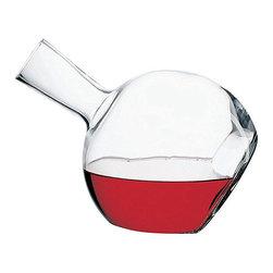 Hospitality Glass - 9.25H x 2T x 2 3/4B 50 oz Decanter 4 Ct - 50 oz Decanter