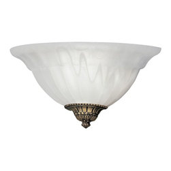 Designers Fountain - Designers Fountain 6021 Value Wall Sconce Wall Sconce in Assorted Cap Finish Mul - Shop for Wall Mounted Lighting and Sconces from Hayneedle.com! Evoking classic elegance and an old world charm the Designers Fountain 6021 Value Wall Sconce Wall Sconce in Assorted Cap Finish works well in both casual and formal settings. The delicate scavo glass shade with a choice of assorted cap finishes houses one 100-watt incandescent medium base bulb (not included) which adds the right amount of functional light to your space. Since this wall sconce is UL-listed for damp locations it also makes a good choice for your bath or vanity.About Designers FountainHeadquartered in sunny Los Angeles Designers Fountain lets you show off your creative side. Indulge yourself and your home with a range of lighting styles from contemporary to classic each crafted with care from high-quality materials. Designers Fountain supplies lighting fixtures to over 1 200 authorized North American dealers and sources designs from across the world. Get quality lighting that enhances your home while impressing you with its affordable price... only from Designers Fountain.