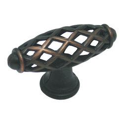 Cosmas - Cosmas 1749ORB Oil Rubbed Bronze Birdcage Cabinet Knob - Manufacturer: Cosmas