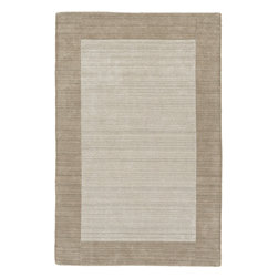 """Kaleen - Kaleen Regency Regency (Ivory) 3'6"""" x 5'3"""" Rug - Regency offers an array of fourteen beautifully elegant subtle tones for today's casual lifestyles. Choose from rich timeless hues shaded with evidence of light brush strokes. These 100% virgin wool, hand loomed rugs are sure to add comfort and warmth to any setting. Hand crafted in India."""