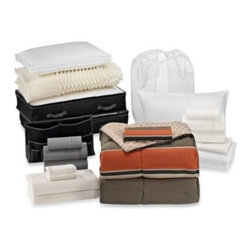 Bed Bath & Beyond Service - Cadet 21-Piece Classic Dorm Room Kit - The Cadet Classic Dorm Room Kit is the perfect solution for outfitting your dorm room in convenience and comfort. It features a wide range of bedding essentials with storage for laundry, books, and more.
