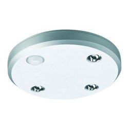Hafele - Loox Round Battery Operated Light with Motion Sensor - 9003 LED battery operated light with USB port