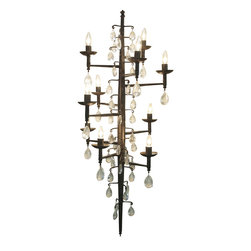 NOIR - NOIR Furniture - Cascade Chandelier - LAMP451 - Features: