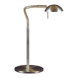 Kenroy - Kenroy 20971BS Basis Desk Lamp - Kenroy 20971BS Basis Desk Lamp