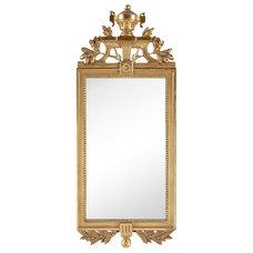 One Kings Lane - Scandinavian Influence - Early-20th-C. Gustavian-Style Mirror