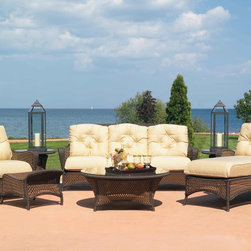 Lloyd Flanders Grand Traverse Seating Collection - Lloyd Flanders Grand Traverse Collection, a woven heirloom moment on the waterfront. Combine chaises, lounges, ottomans and sofas for your perfectly customized area.