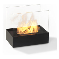 Bio-insert for Fireplace - No need to refurbish a wood-burning fireplace.  This bio-insert does not require a traditional chimney and can be used in nearly any space + save yourself the clean-up and hassle of wood!