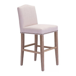Zuo Modern Pasadena Bar Chair - Zuo Modern Pasadena Bar Chair