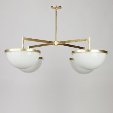 Nevins 14 Chandelier by Alan Wanzenberg for Remains Lighting -