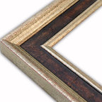 The Frame Guys - Manchester Distressed Wood with Champagne Lip Picture Frame-Solid Wood-11x14 - *Manchester Distressed Wood with Champagne Lip Picture Frame-Solid Wood-11x14