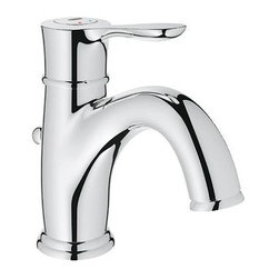Grohe - Grohe 23305000 Parkfield Lavatory Centerset Faucet, Starlight Chrome - Grohe 23305000 Parkfield Lavatory Centerset Faucet, Starlight Chrome With its sweeping lines and smooth curves the new Parkfield flows effortlessly like water itself and, like the arching curve of a water fountain the spout guides water to the perfect position for function and comfort. Inspired by nature, the lever has a fluid form that is reminiscent of a leaf, while the protruding underside resembles the shape of water held below a leaf by tension until it finally drops to the ground. The increased organic volume of the lever gives the faucet a more tactile feel that improves usability and set to precisely 7 degrees, it invites interaction while boldly communicating the GROHE brand DNA. Grohe 23305000 Parkfield Lavatory Centerset Faucet, Starlight Chrome Features: Solid Brass Construction GROHE SilkMove Ceramic Cartridge GROHE QuickFix Quick Installation GROHE WaterCare- 1.5gpm Single
