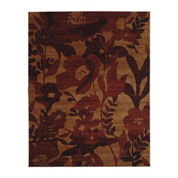 Frontgate - Floral Garden Wool Area Rug in Red - Handcrafted of 100% pure virgin wool. Tightly hand-woven using small knots resulting in a thick, plush pile. Wool rugs are extremely durable. Safavieh rugs are easy to care for. Persian rugs are equally at home in formal or casual settings. Revive your decor with our Floral Garden Wool Area Rugs in Red by Safavieh. The elegance of a classic Persian rug and the flair of a contemporary work of art come together in this unconventional area rug. You'll have a lush field of flowers at your feet with this finely-woven floor covering.Handcrafted of 100% pure virgin wool. . . . .
