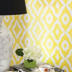 eclectic wallpaper by AphroChic Shop