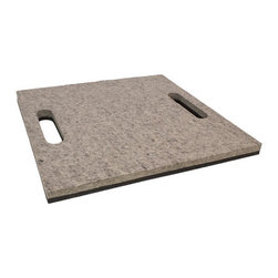 The Felt Store - Felt Stadium Seat Pad - 15 x 15 x 0.75 Inch, Natural Grey And Black - The Felt Store's Stadium Seat Pad is the perfect companion for game day, tail gating, gardening and more! This comfy, light and portable cushion is designed for stadium seats and bleachers but it can also be used in the garden, home, or out in the wild! Sit and enjoy the game on this soft pad made of natural felt and sponge neoprene. The light materials used, size and double handles make this seat pad the ultimate portable seat pad for sporting events, concerts and more! Use the cushion in the garden as a kneeling pad, around the house kneeling mat whilst working on projects, sit around the fire when camping or use as a kneeling mat while hunting! The Felt Store's Stadium Seat Pad is a versatile and durable cushion that is available in different sizes. This particular pad measures 15 X 15 X 0.75 inches (38.1cm X 38.1cm X 19.05mm) and can be wiped clean with a damp cloth.