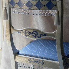 Armchairs And Accent Chairs by Sharon Mooradian Designs