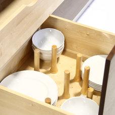 Modern Cabinet And Drawer Organizers by Handwerk Interiors