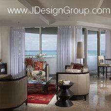 Modern Pool by J Design Group - Interior Designers Miami - Modern