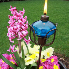 Eclectic Outdoor Lighting by madaboutgardening.com