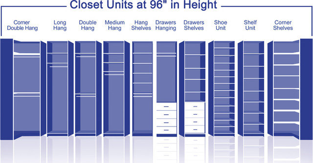Closet Organizers by International Closet Center