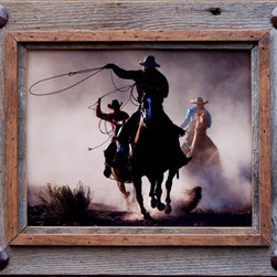 MyBarnwoodFrames - Rustic Frames Hobble Creek Series 18x24 frame with large tacks - Rustic  Frames  with  Personality  -  Barn  Wood  with  Decorative  Tacks          Our  rustic  frames  each  have  a  distinctive  style,  and  this  one  is  a  favorite.  Handcrafted  from  natural  barn  wood,  This  frame  includes  a  1/2  inch  distressed  alder  wood  overlay  and  a  large  tack  at  each  corner  to  give  it  a  little  bit  of  personality.          Product  Specifications:                  18x24  Frame  opening              Exterior  dimensions  approximately  21x27              Rustic  barn  wood  frame  with  alder  overlay  and  metal  corner  tacks              Backing  and  sawtooth  hanger  are  included              Ships  without  glass;  Add  plexiglas  if  desired              Please  note:  Due  to  the  nature  of  barnwood,  many  of  our  rustic  frames  vary  slightly  in  color  and  texture,  and  yours  may  vary  slightly  from  the  one  pictured  here.