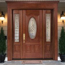 Traditional Front Doors by Tru Tech Doors