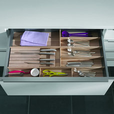 Traditional Kitchen Drawer Organizers by Your German Kitchen