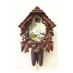 ROMBACH UND HASS - Romach und Haas Schone Aussicht Cuckoo Clock with 8 Day Movement - 8 days on one wind