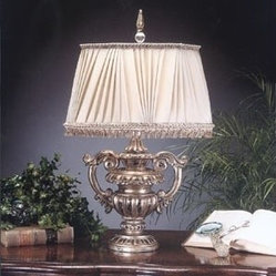 John Richard Large Classical Urn Table Lamp