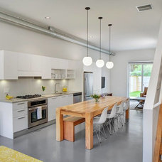 Contemporary Kitchen by Rustic Elements Furniture