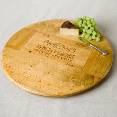 Wine Crate Lazy Susan- Lynch Bages - Ignite Images