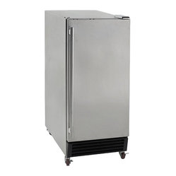Avanti Outdoor Refrigerator with Stainless Steel Door