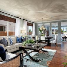 Contemporary Living Room Solstice