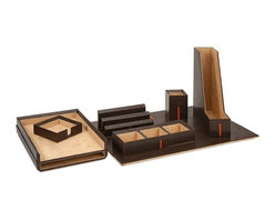 Imax - Espresso Desk Set with Gift Box - *Dimensions: see eCommerce