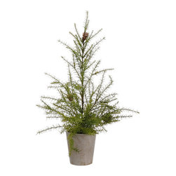 Silk Plants Direct - Silk Plants Direct Mini Balsam Fir Tree (Pack of 4) - Silk Plants Direct specializes in manufacturing, design and supply of the most life-like, premium quality artificial plants, trees, flowers, arrangements, topiaries and containers for home, office and commercial use. Our Mini Balsam Fir Tree includes the following: