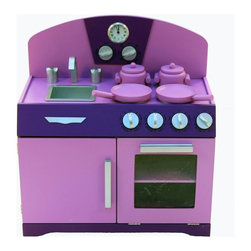 A+ Childsupply - A+ Childsupply Retro Cooking Range with Sink - M9011 - Shop for Childrens Table and Chair Sets from Hayneedle.com! About A+ Childsupply Inc.For over 10 years A+ Childsupply has been supplying high quality products for use in schools daycares and homes. Their design team has developed an extensive series of preschool furniture with safety durability and beauty as top priorities. Every product built in their factory undergoes an extensive battery of tests and is compliant with all laws and regulations as set forth by the CPSC (Consumer Products Safety Commission) and is also compliant with European standards of EN-71. Each product is designed with protective corners and edges moisture- and stain-resistant finishes durable construction methods environmentally friendly wood renewable resources innovation and superior quality and value.